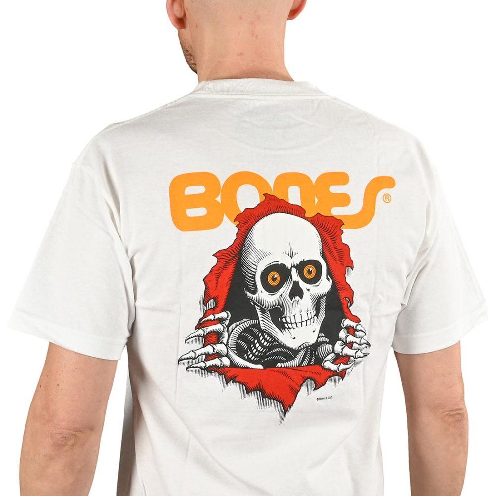 Powell Peralta Ripper S/S T-Shirt - White
