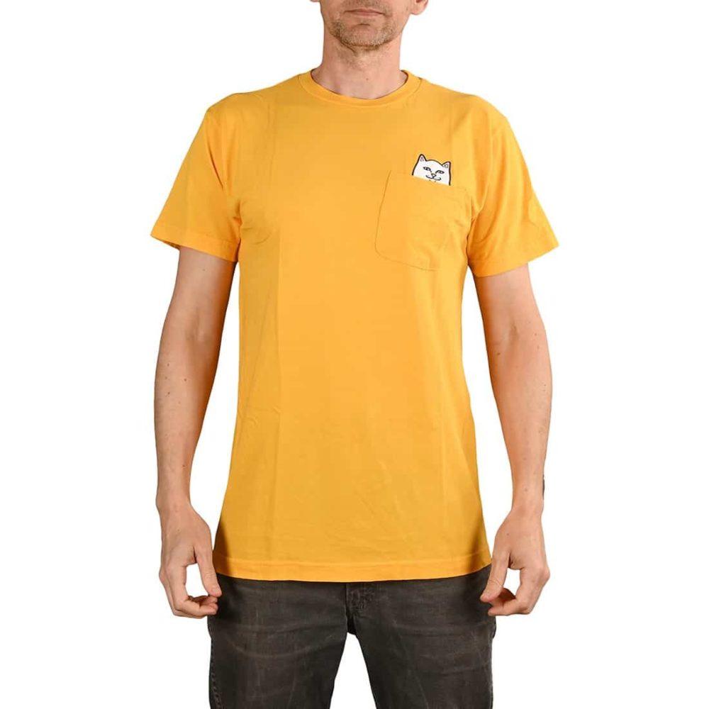 RIPNDIP Lord Nermal S/S Pocket T-Shirt - Gold