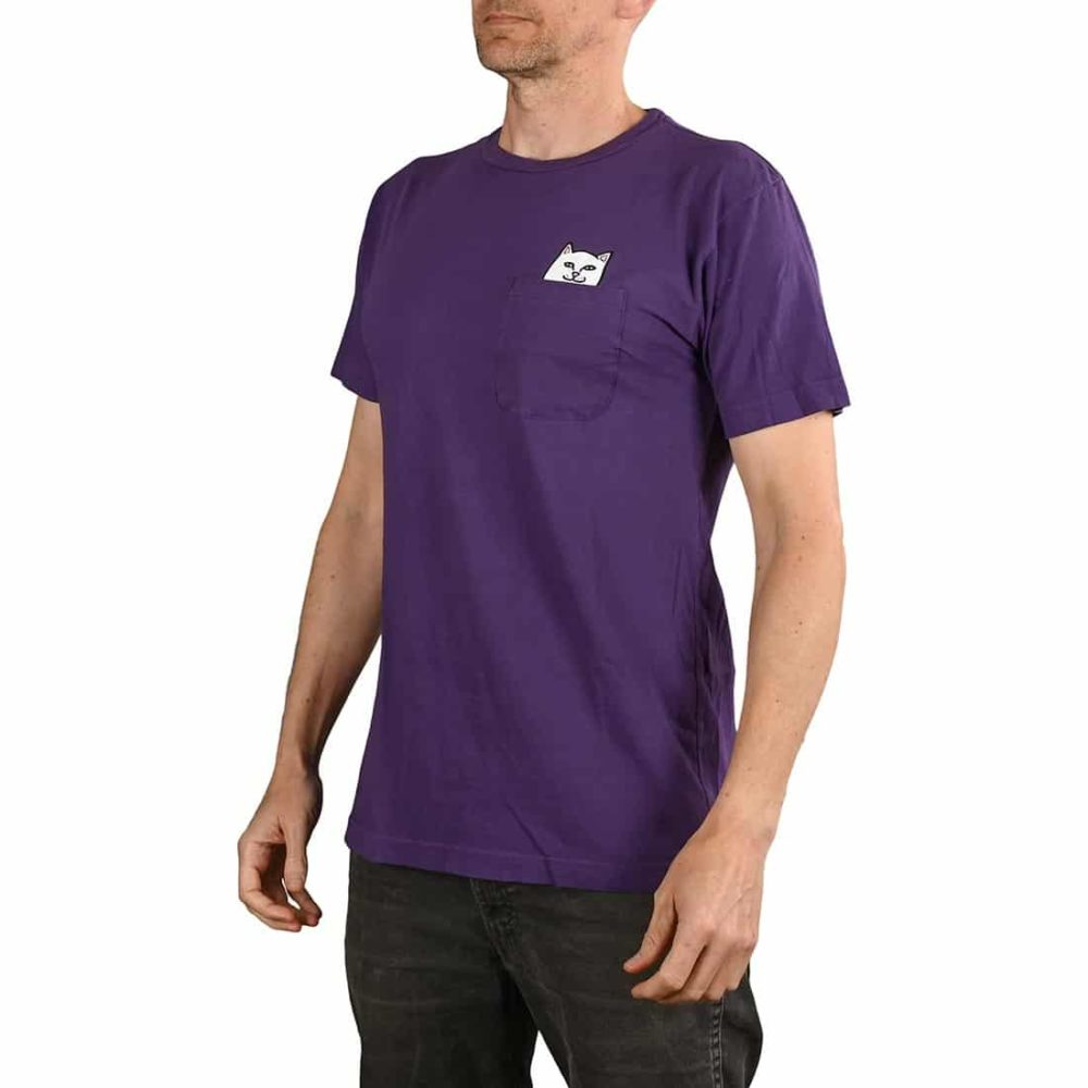 RIPNDIP Lord Nermal S/S Pocket T-Shirt - Purple