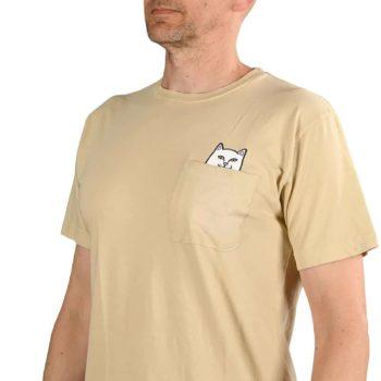 RIPNDIP Lord Nermal S/S Pocket T-Shirt - Tan
