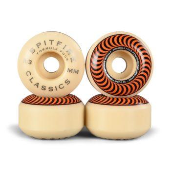 Spitfire Formula Four Classics 99D 53mm Wheels - Orange