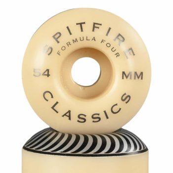 Spitfire Formula Four Classics 99D 54mm Wheels - Silver