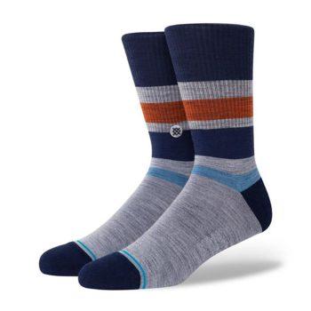 Stance Hofn Crew Socks - Navy