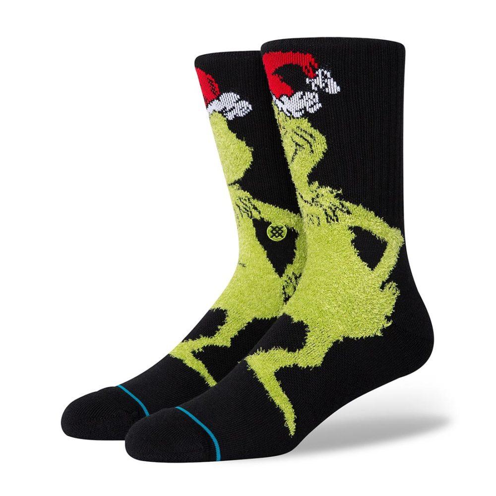 Stance Mr Grinch Crew Socks - Black