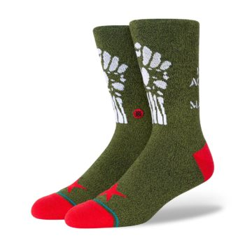 Stance Renegades Crew Socks - Army Green