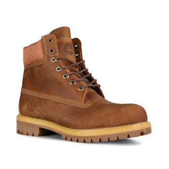 Timberland 6 Inch Premium Boot - Rust Full Grain