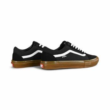 Vans Old Skool Pro Skate Shoes - Black / Gum