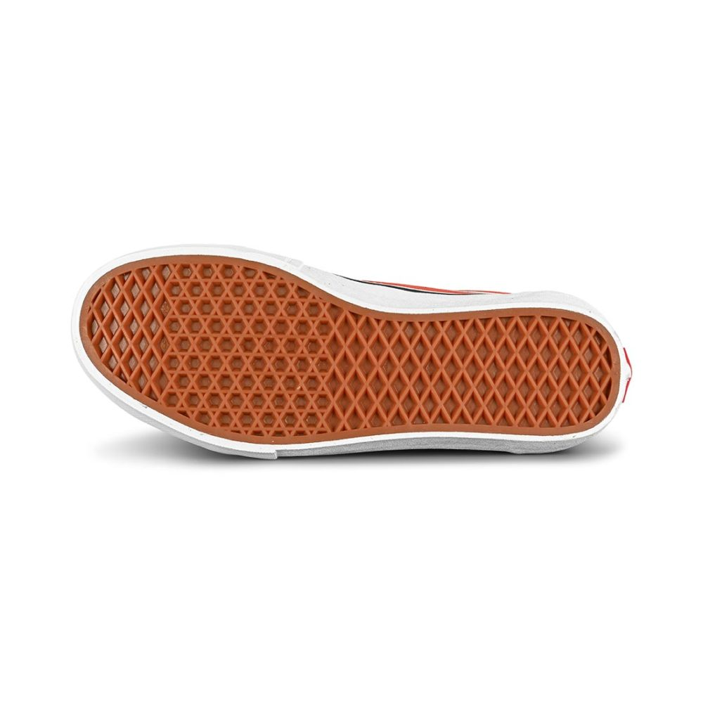 Vans Old Skool Pro Skate Shoes - Black / Orange