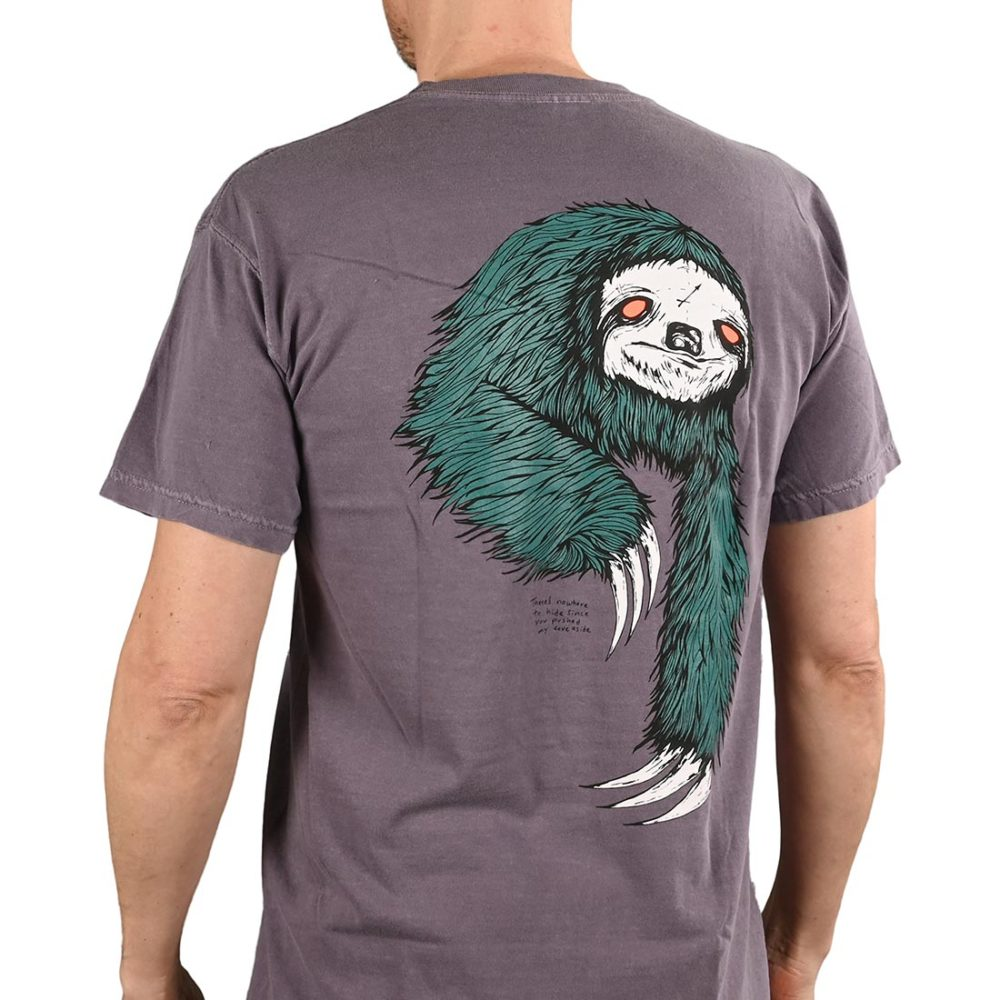 Welcome Sloth S/S T-Shirt - Wine