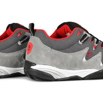 eS Symbol Skate Shoes - Grey / Red