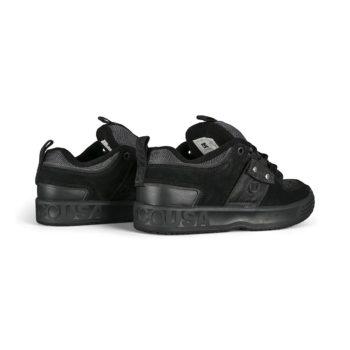 DC Lynx OG JS Skate Shoes - Black / Black / Battleship