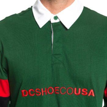 DC Shoes Dinsmore L/S Polo Shirt - Eden