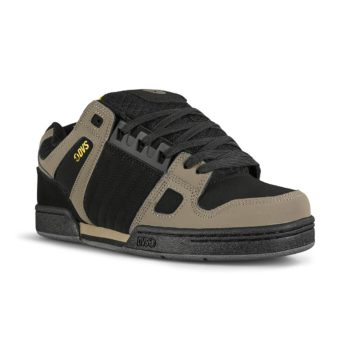 DVS Celsius Skate Shoes - Black / Yellow