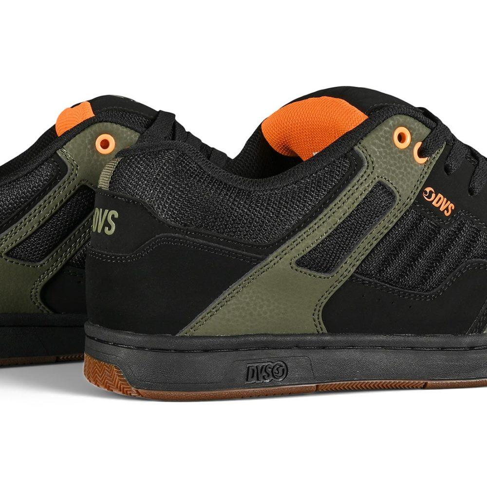 DVS Enduro 125 Skate Shoes - Black / Olive