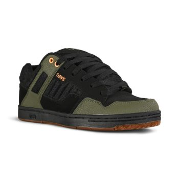 DVS Enduro 125 Skate Shoes - Black / Olive