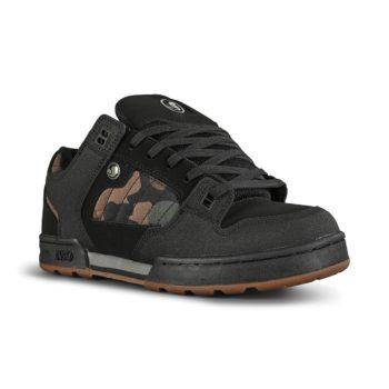 DVS Militia Snow Shoes - Black / Camo Leather