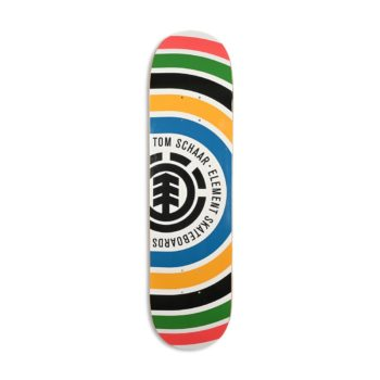 "Element Tom Schaar Rings 8"" Skateboard Deck"