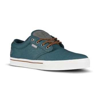 Etnies Jameson 2 Eco Skate Shoes - Navy / Grey / Silver