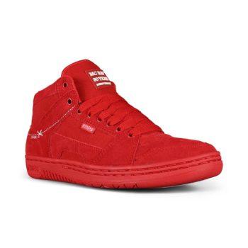 Etnies MC Rap High Skate Shoes - Red / White