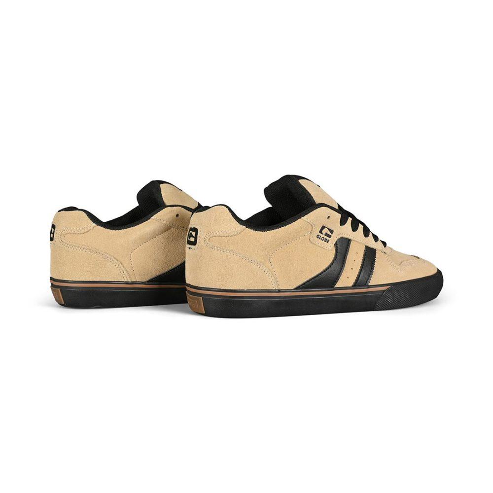 Globe Encore 2 Skate Shoes - Sand / Black