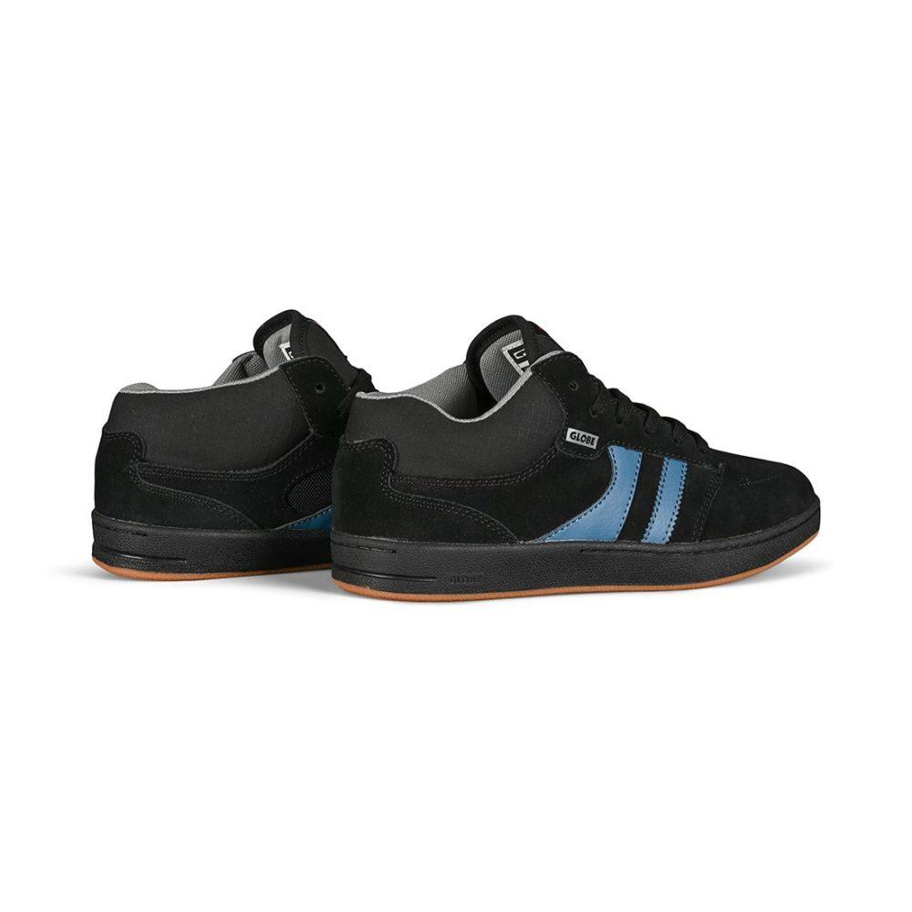 Globe Octave Mid RM Skate Shoes - Black / Grey / Blue