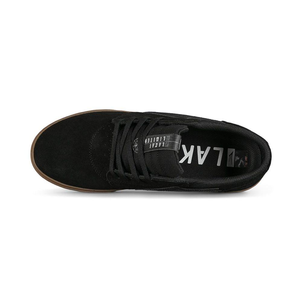 Lakai Griffin Skate Shoes - Black / Gum