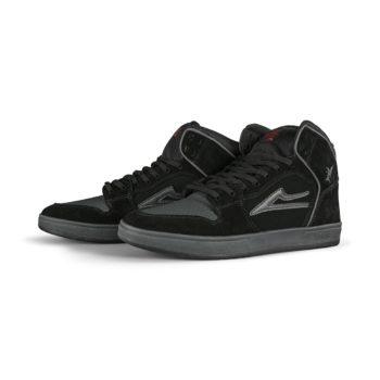 Lakai x Black Sabbath Telford High Top Skate Shoes - Black / Grey