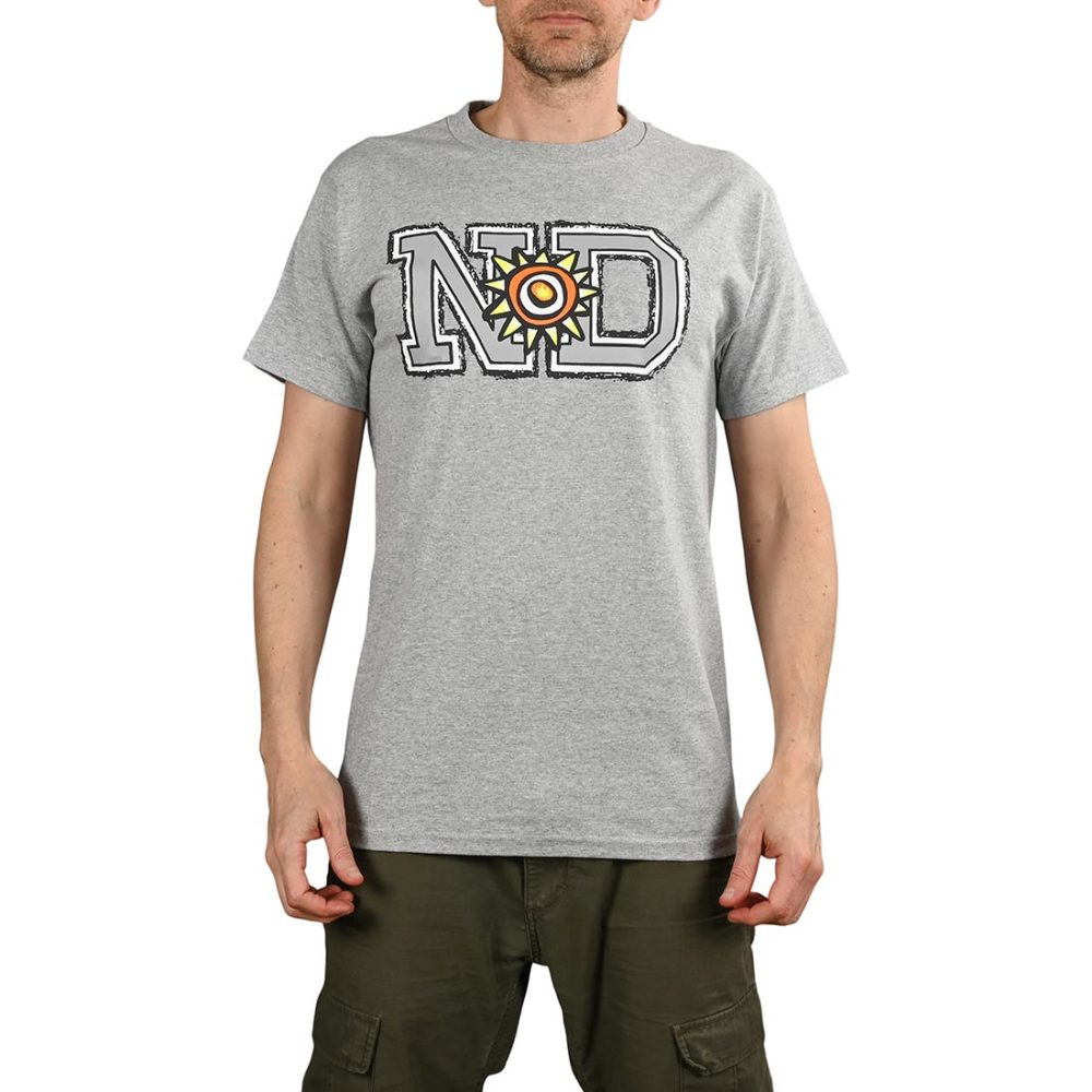 New Deal ND Price Point S/S T-Shirt - Athletic Heather