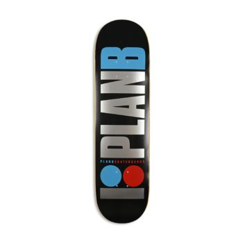 "Plan B Team OG Foil 8.25"" Skateboard Deck"