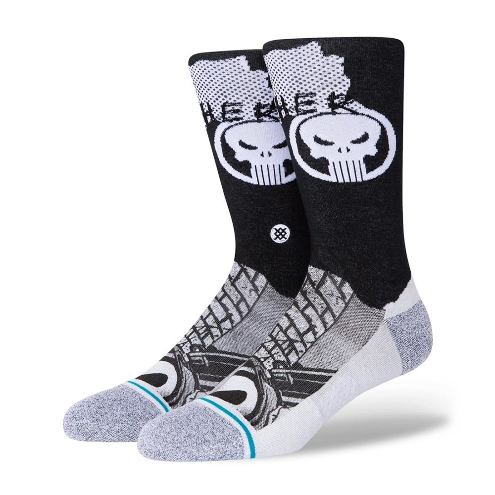 Stance Punisher Crew Socks - Black