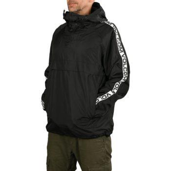 Volcom Kane Windbreaker Jacket - Black