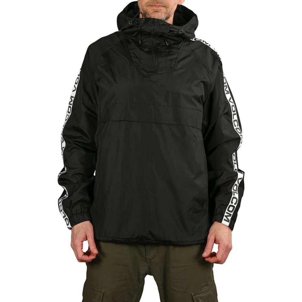 Volcom Kane Windbreaker Jacket - Black