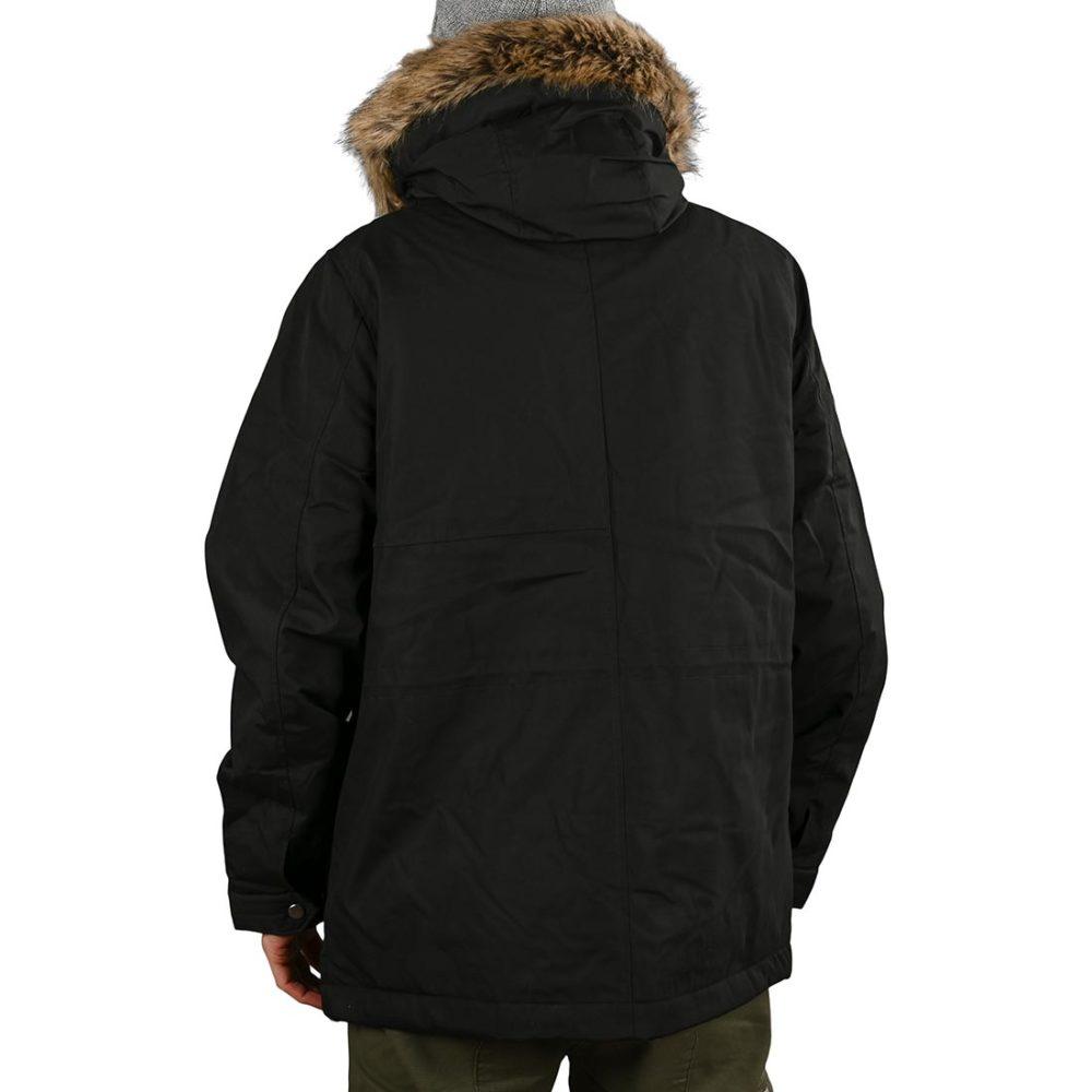 Volcom Lidward 5K Parka Jacket - Black