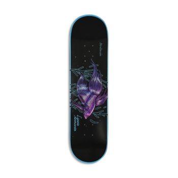 "Birdhouse Armanto Stillness Pro 8"" Skateboard Deck - Black / Blue"
