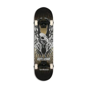 """Birdhouse Stage 3 Hawk Wings 7.75"""" Complete Skateboard - Black"""