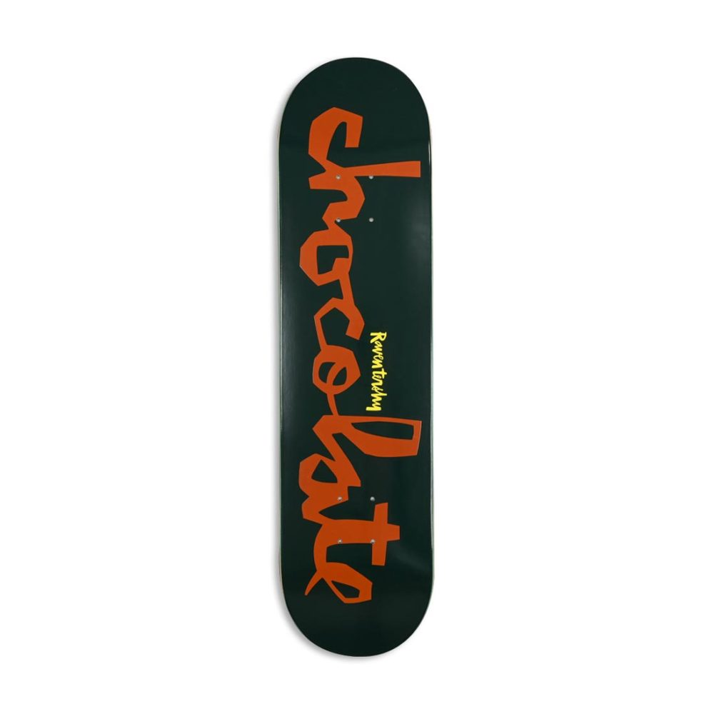 "Chocolate Original Chunk W40 Raven Tershy 7.75"" Skateboard Deck"