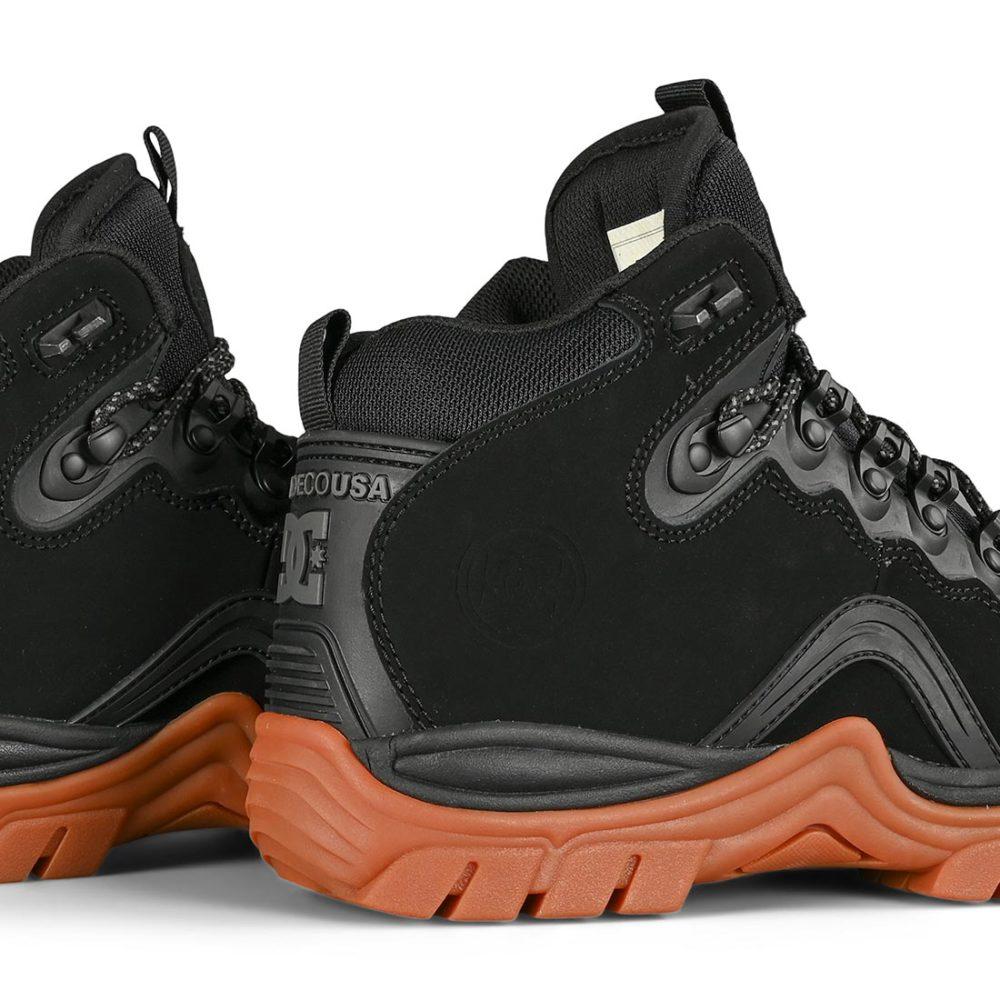 DC Navigator Lace Up Winter Boot - Black / Gum