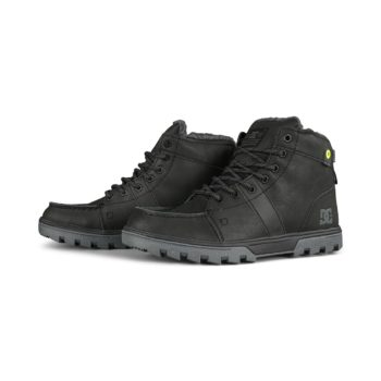 DC Woodland Lace Up Winter Boot - Armor / Black