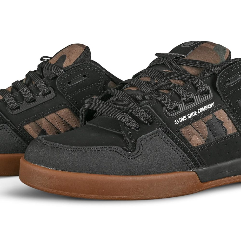 DVS Comanche 2.0+ Skate Shoes - Black / Camo