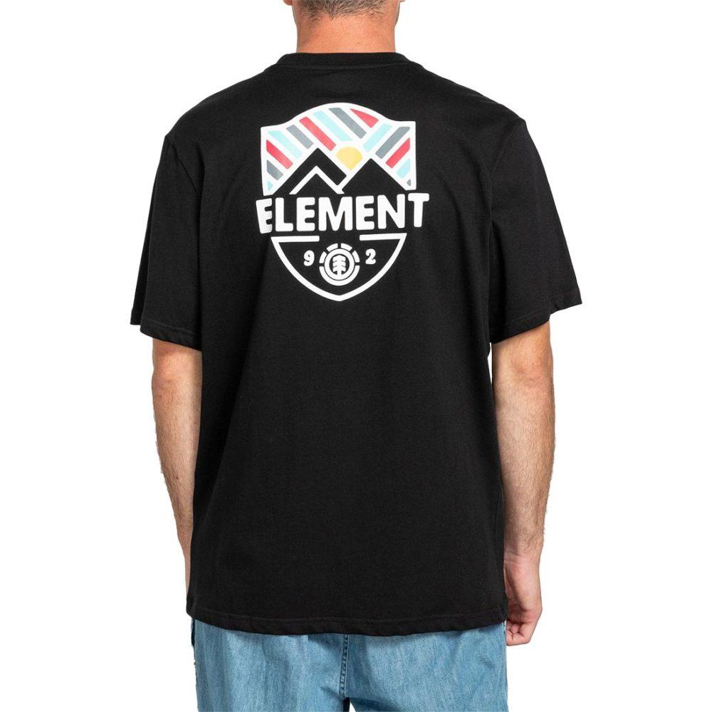 Element Beaming S/S T-Shirt - Flint Black