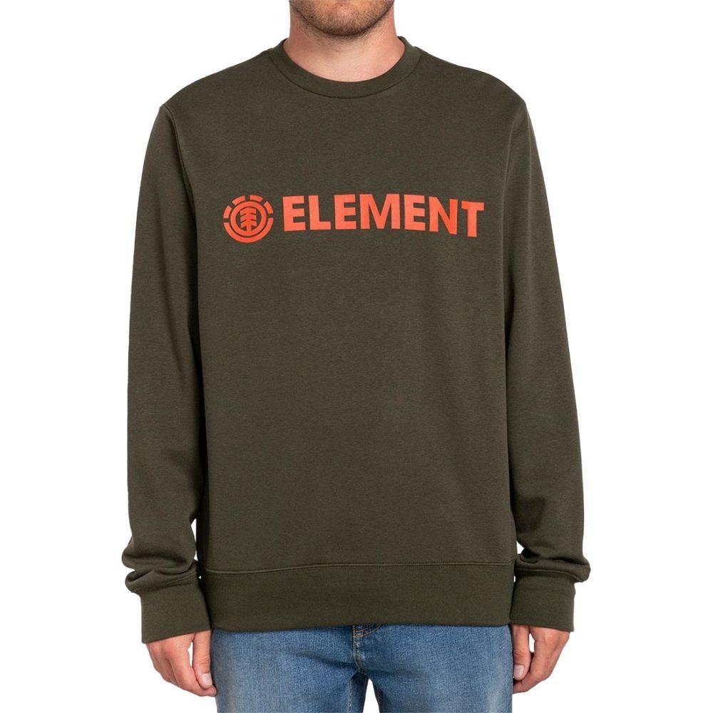 Element Blazin Crew Sweater - Forest Night