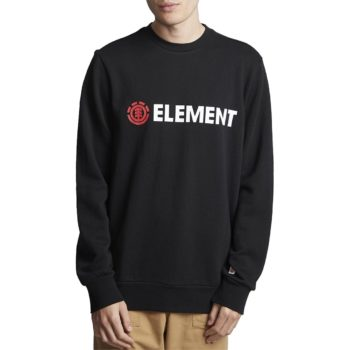 Element Blazin FT Crew Sweater - Flint Black