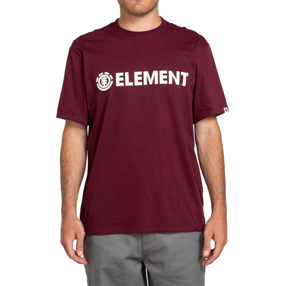Element Blazin S/S T-Shirt - Vintage Red