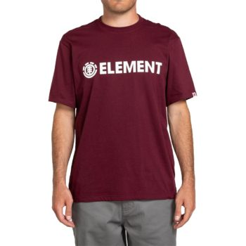 Element Blazin S/S T-Shirt - Vintage Red