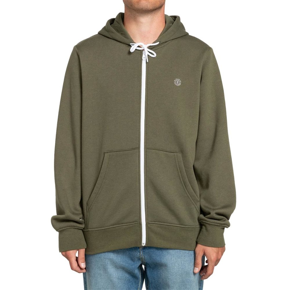Element Cornell Classic Zip-Up Hoodie - Army