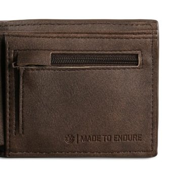 Element Daily PU Leather Wallet - Dark Earth