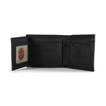 Element Daily PU Leather Wallet - Flint Black