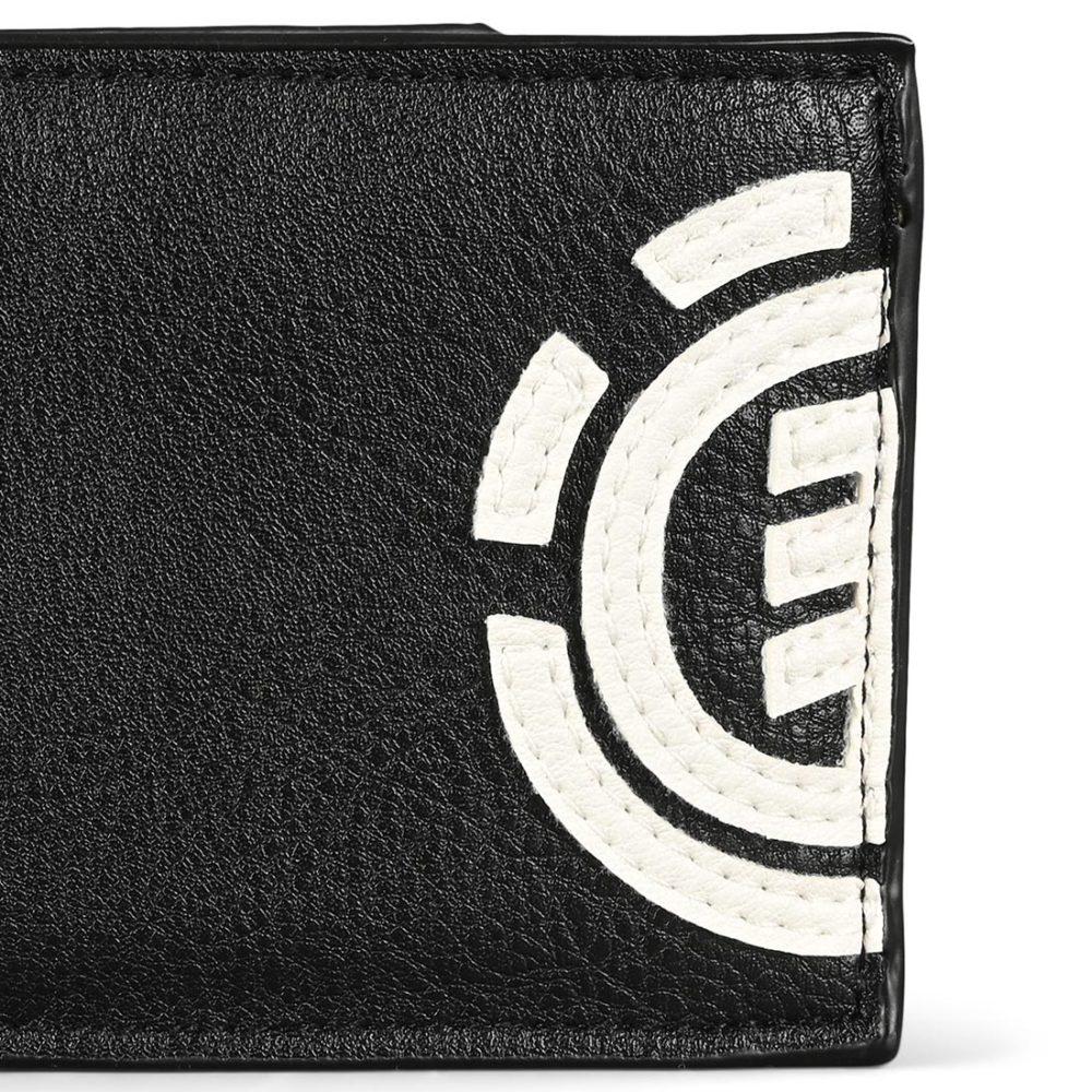Element Daily PU Leather Wallet - Flint Black