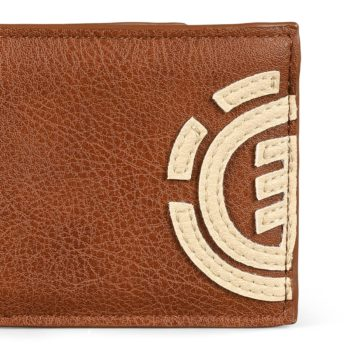 Element Daily PU Leather Wallet - Tortoise Shell