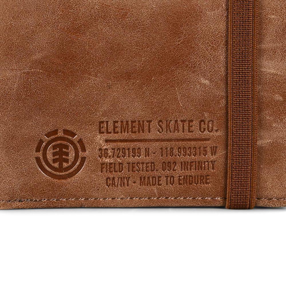 Element Endure Leather Wallet - Brown